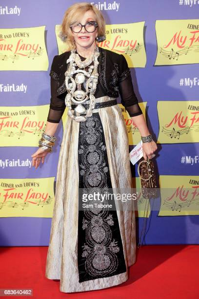 Judith Durham arrives ahead of opening night of My Fair Lady at Regent Theatre on May 16 2017 in Melbourne Australia
