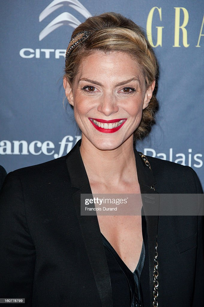 Judith El Zein attends the 'Trophees Du Film Francais' 20th Ceremony at Palais Brongniart on February 5, 2013 in Paris, France.