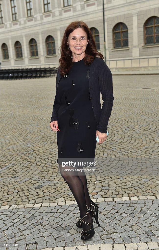 Judith Epstein attend the Bernhard Wicki Award (Friedenspreis des Deutschen Films) during the Munich Film Festival 2016 at Cuvilles Theatre on June 30, 2016 in Munich, Germany.