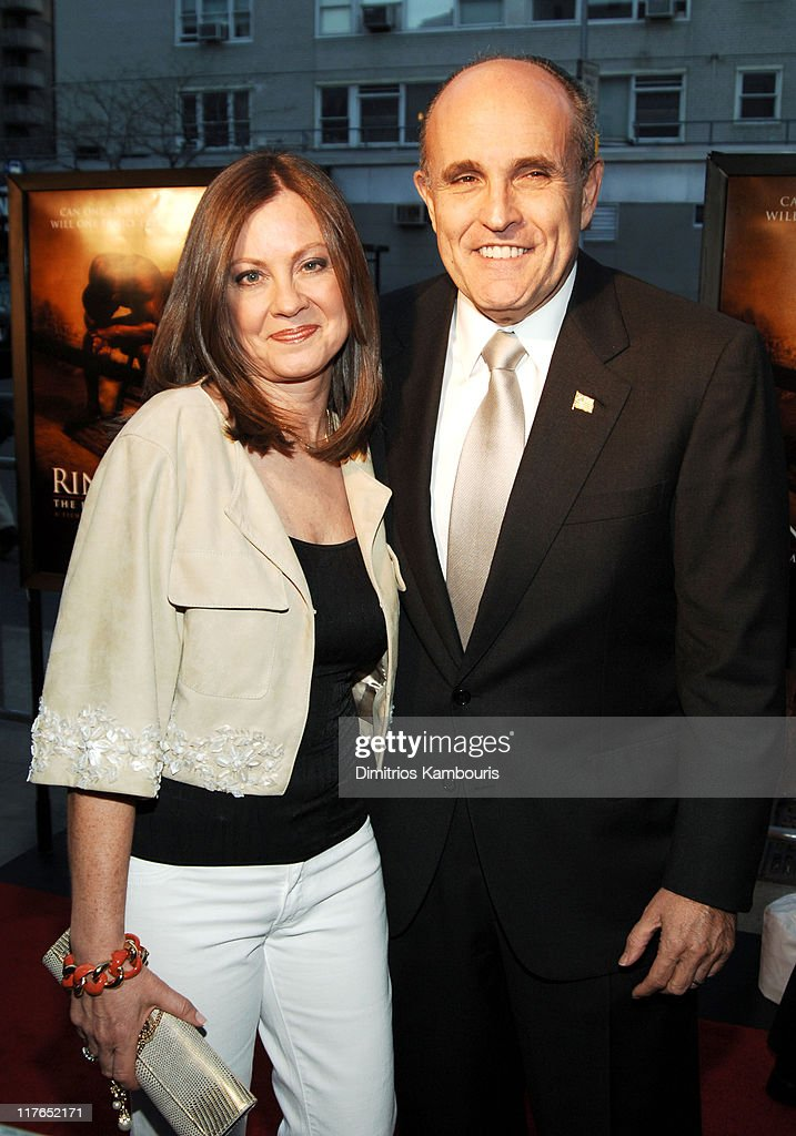 Judith Giuliani and Rudolph Giuliani during 'Ring Of Fire The Emile Griffith Story' New York Premiere Arrivals at Beacon Theatre in New York City New...