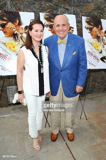 Judith Giuliani and Rudy Giuliani attend the 'Mission Impossible Rogue Nation' Special Screening Hosted By Alec Baldwin Arrivals at United Artists...