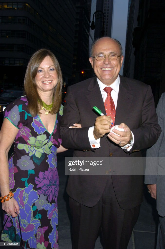 Judith Giuliani and Rudy Giuliani during 'Sirio The Story of My Life' and 'Le Cirque' by Sirio Maccioni and Peter Elliot Book Party at Le Cirque in...