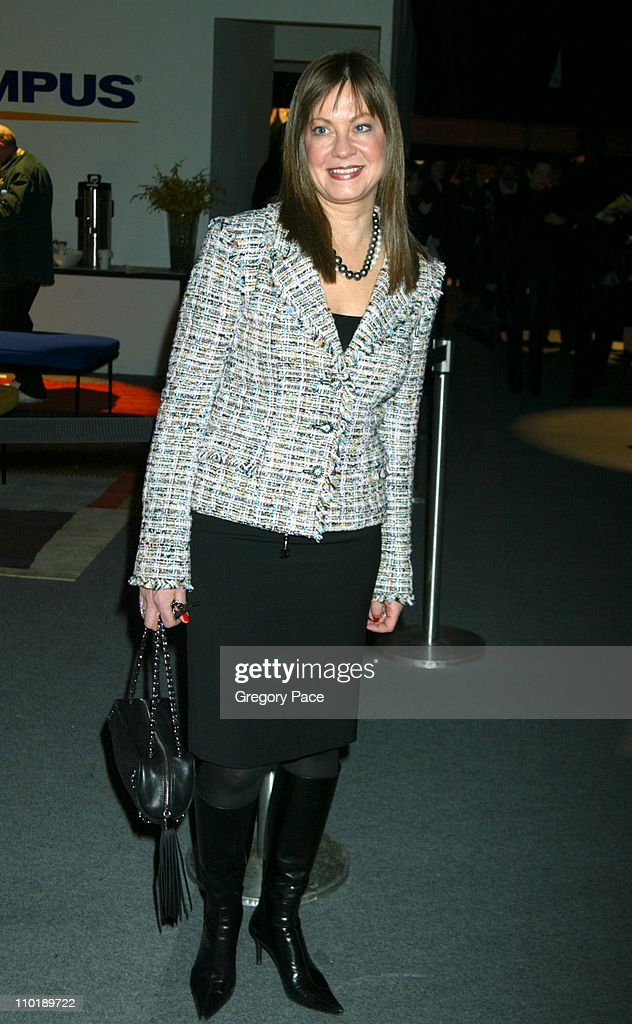 Judith Giuliani during Olympus Fashion Week Fall 2004 Carolina Herrera Front Row at The Tent at Bryant Park in New York City New York United States