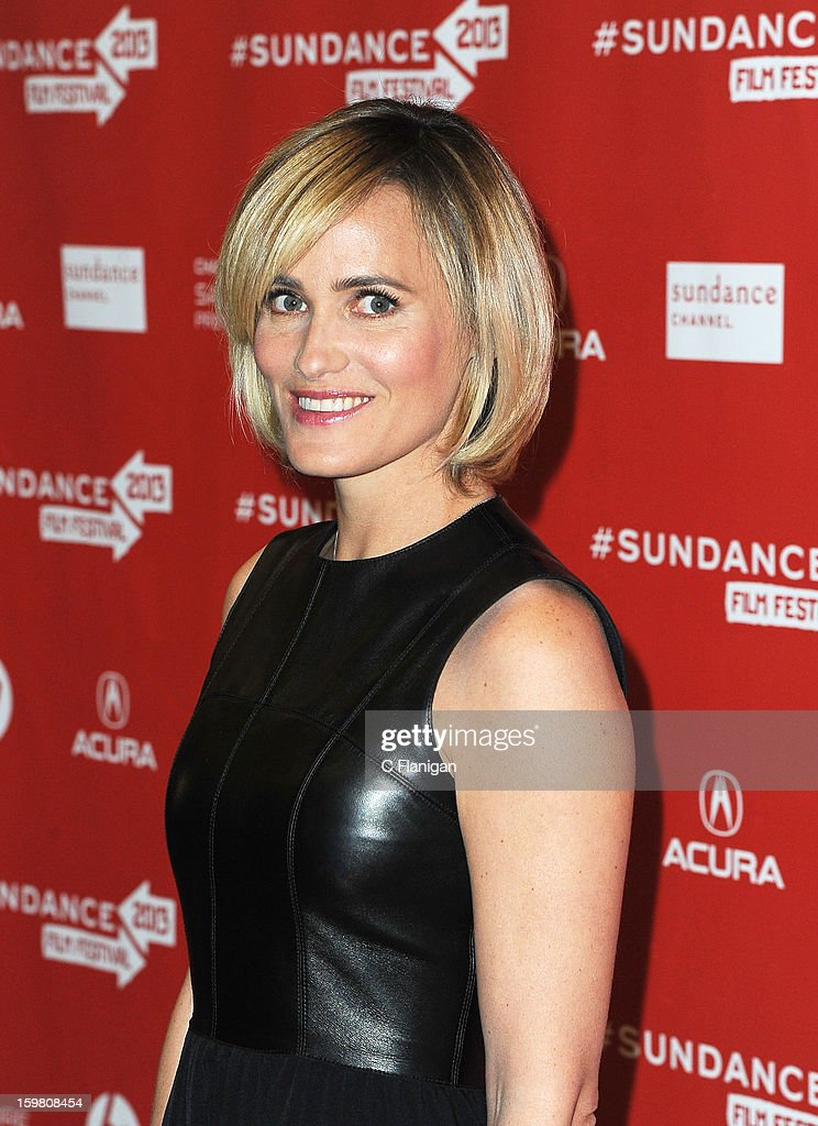 Judith Godrche attends the 'Stoker' Premiere at Eccles Center Theatre on January 20, 2013 in Park City, Utah.