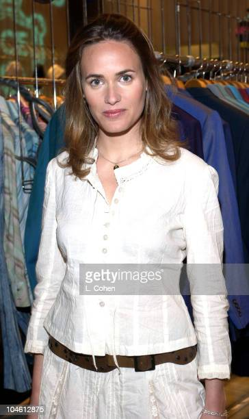 Judith Godreche at the opening of the HMen's Boutique on Sunset Plaza in West Hollywood