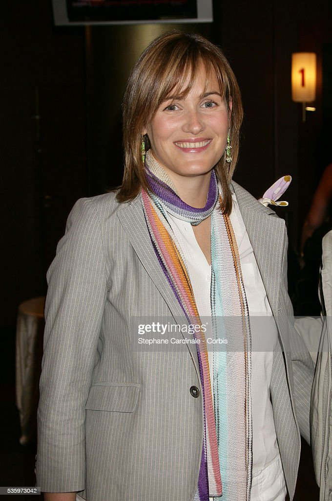 Judith Godreche at the premiere of 'Papa' in Paris.