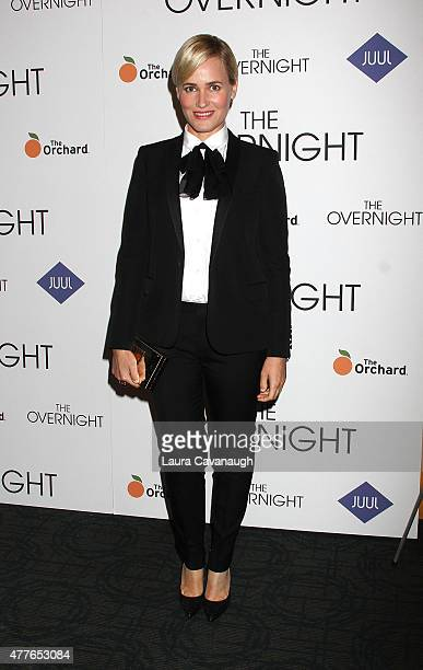 Judith Godreche attends 'The Overnight' New York Premiere at Sunshine Landmark on June 18 2015 in New York City
