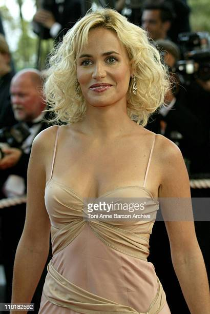 Judith Godreche during 2003 Cannes Film Festival Closing Ceremony Arrivals at Palais des Festivals in Cannes France
