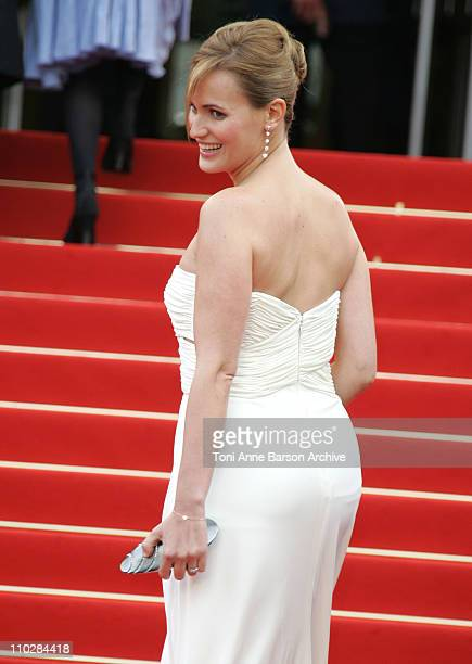 Judith Godreche during 2006 Cannes Film Festival 'Selon Charlie' Premiere at Palais du Festival in Cannes France