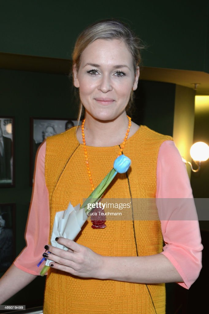 Judith Hoersch attends the Blaue Blume Awards during 64th Berlinale International Film Festival on February 14, 2014 in Berlin, Germany.