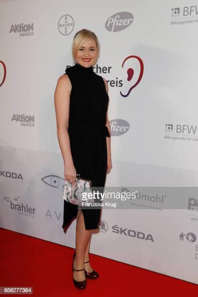 Judith Hoersch attends the Deutscher Hoerfilmpreis at Kino International on March 21 2017 in Berlin Germany