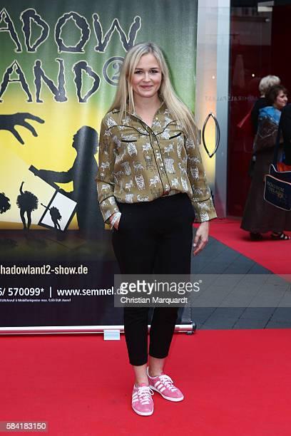 Judith Hoersch attends the 'Shadowland 2 Neues aus dem Reich der Schatten' World Premiere at Admiralspalast on July 28 2016 in Berlin Germany