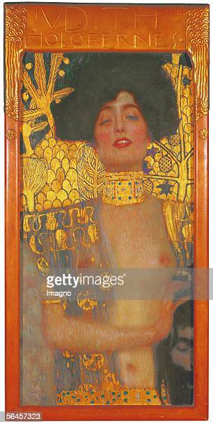 Judith I by Gustav Klimt D113 Oil on Canvas 1910 [Judith I D113 oel/Lwd 1910]