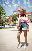 Street Style at Barcelona 080 Fashion Week