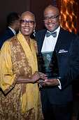 Judith Jamison Artistic Director Emerita Alvin Alley American Dance Theater accepts an award from Mark Strachan at the 2016 NAN 'Keepers Of The...