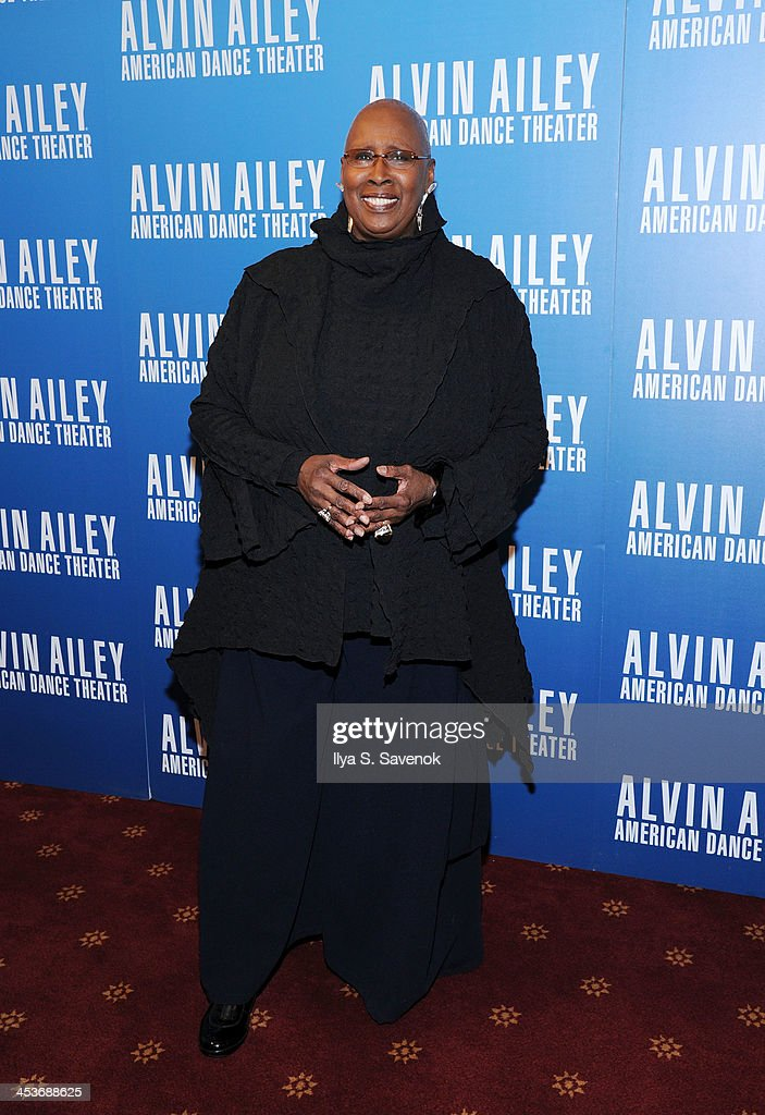 <a gi-track='captionPersonalityLinkClicked' href=/galleries/search?phrase=Judith+Jamison&family=editorial&specificpeople=876969 ng-click='$event.stopPropagation()'>Judith Jamison</a> attends the 2013 Alvin Ailey American Dance Theater's opening night benefit gala at New York City Center on December 4, 2013 in New York City.