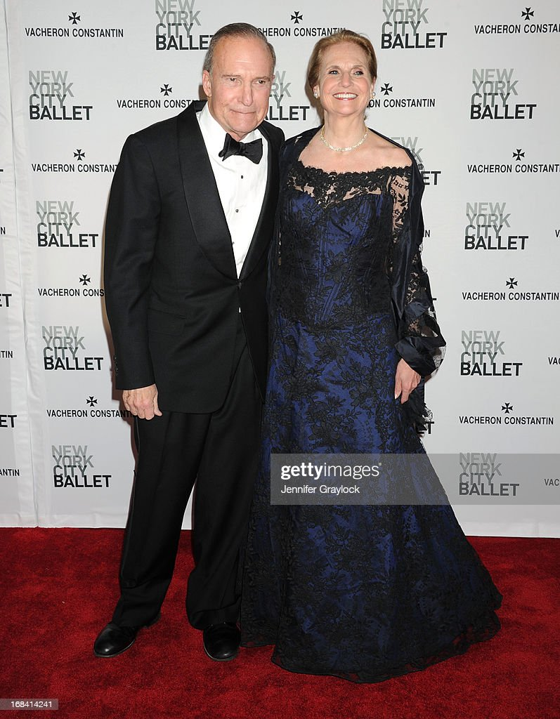 Judith Kudlow and Larry Kudlow attends the New York City Ballet's Spring 2013 Gala at David H. Koch Theater, Lincoln Center on May 8, 2013 in New York City.
