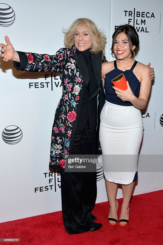 Judith Light and America Ferrera attend the 'X/Y' Premiere during the 2014 Tribeca Film Festival at BMCC Tribeca PAC on April 19, 2014 in New York City.