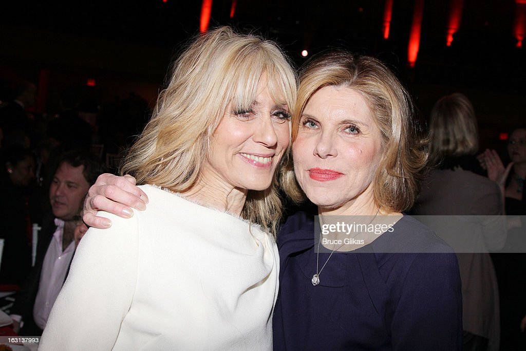 <a gi-track='captionPersonalityLinkClicked' href=/galleries/search?phrase=Judith+Light&family=editorial&specificpeople=214207 ng-click='$event.stopPropagation()'>Judith Light</a> and <a gi-track='captionPersonalityLinkClicked' href=/galleries/search?phrase=Christine+Baranski&family=editorial&specificpeople=220787 ng-click='$event.stopPropagation()'>Christine Baranski</a> attend MCC Theater Company's Miscast 2013 at Hammerstein Ballroom on March 4, 2013 in New York City.