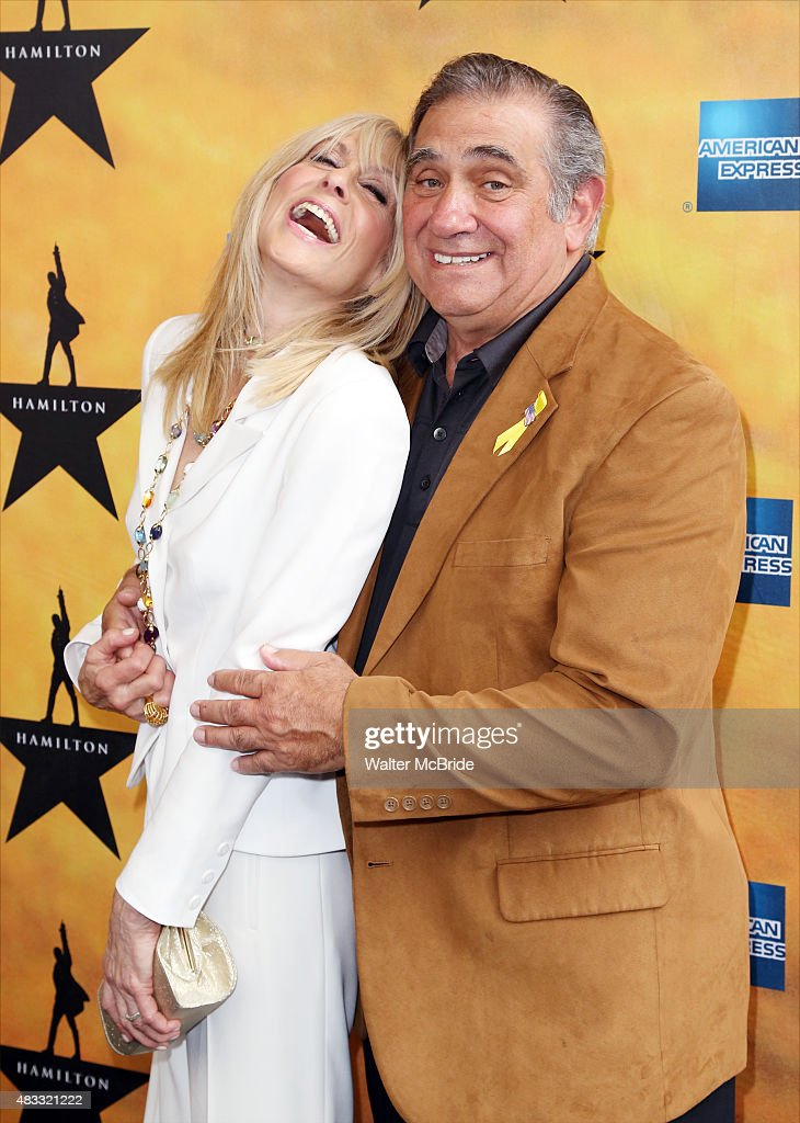 Judith Light and Dan Lauria attend the Broadway Opening Night Performance of 'Hamilton' at the Richard Rodgers Theatre on August 6, 2015 in New York City.
