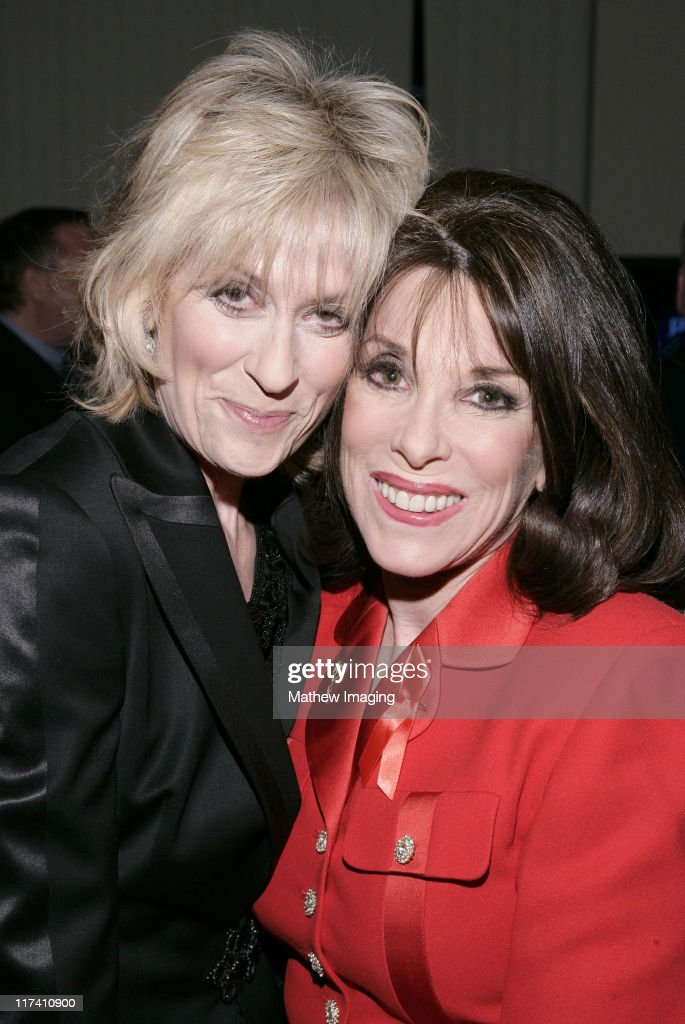 Judith Light and Kate Linder *EXCLUSIVE IMAGE* during Academy of Television Arts Sciences Presents The 10th Annual Ribbon of Hope Celebration 2006...