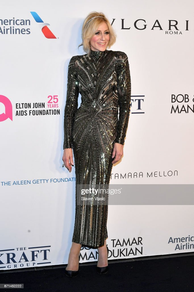 Judith Light attends the Elton John AIDS Foundation's Annual Fall Gala with Cocktails By Clase Azul Tequila at Cathedral of St. John the Divine on November 7, 2017 in New York City.