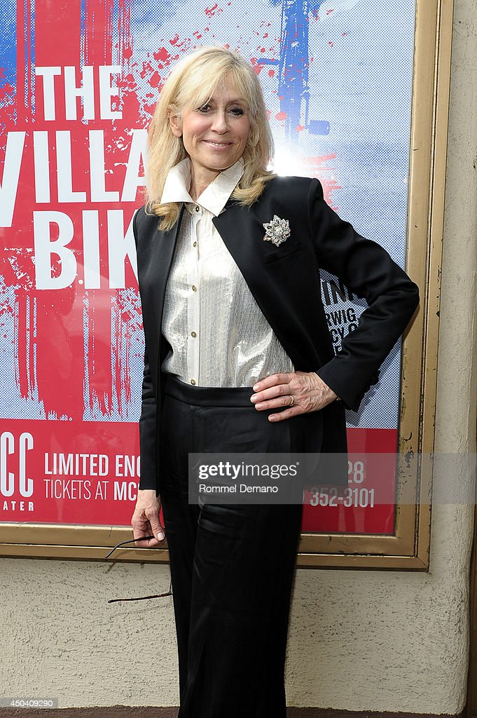 <a gi-track='captionPersonalityLinkClicked' href=/galleries/search?phrase=Judith+Light&family=editorial&specificpeople=214207 ng-click='$event.stopPropagation()'>Judith Light</a> attends the 'The Village Bike' Opening Night Arrivals at Lucille Lortel Theatre on June 10, 2014 in New York City.