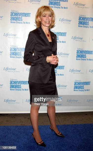 Judith Light during Lifetime's Achievement Awards Women Changing the World Arrivals at Manhattan Center in New York City New York United States