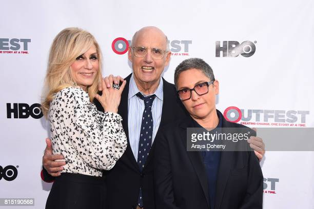 Judith Light Jeffrey Tambor and Jill Soloway attend the 2017 Outfest Los Angeles LGBT Film Festival screening of Amazon's 'Transparent' Season 4 at...