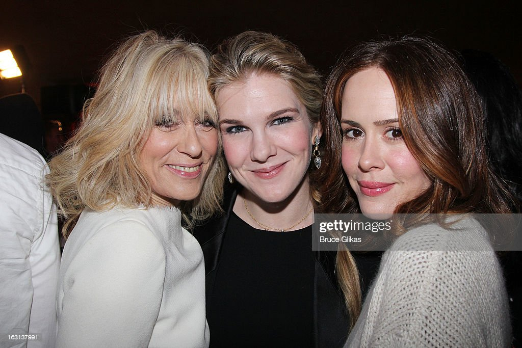 <a gi-track='captionPersonalityLinkClicked' href=/galleries/search?phrase=Judith+Light&family=editorial&specificpeople=214207 ng-click='$event.stopPropagation()'>Judith Light</a>, <a gi-track='captionPersonalityLinkClicked' href=/galleries/search?phrase=Lily+Rabe&family=editorial&specificpeople=233506 ng-click='$event.stopPropagation()'>Lily Rabe</a> and <a gi-track='captionPersonalityLinkClicked' href=/galleries/search?phrase=Sarah+Paulson&family=editorial&specificpeople=220657 ng-click='$event.stopPropagation()'>Sarah Paulson</a> attend MCC Theater Company's Miscast 2013 at Hammerstein Ballroom on March 4, 2013 in New York City.