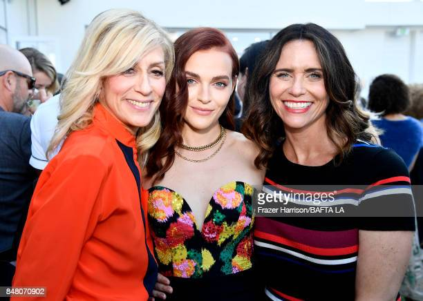 Judith Light Madeline Brewer and Amy Landecker attend the BBC America BAFTA Los Angeles TV Tea Party 2017 at The Beverly Hilton Hotel on September 16...