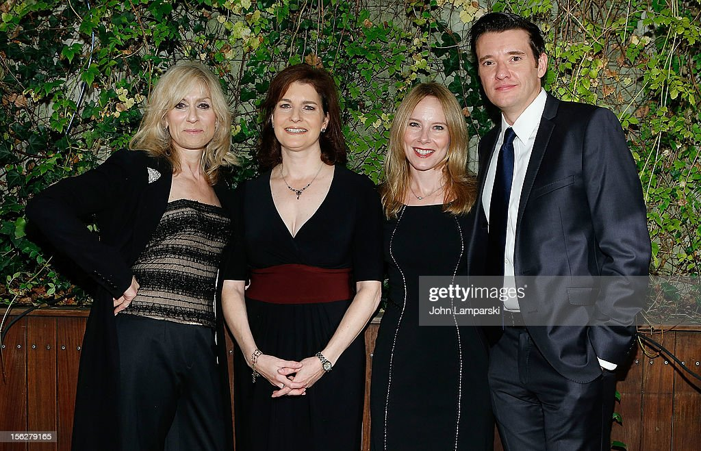 Judith Light Roma Torre Amy Ryan and Jason Butler Horner attend the 2012 Salute To New York Theatre>> at Maritime Hotel on November 12 2012 in New...
