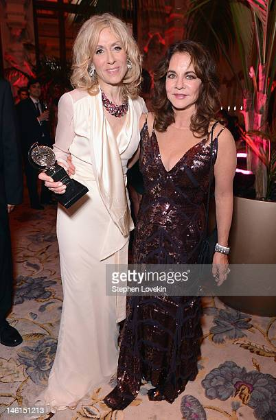Judith Light winner for Best Featured Play Actress for 'Other Desert Cities' and Stockard Channing attend the 66th Annual Tony Awards after party at...