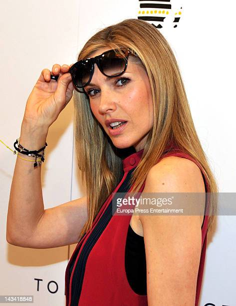Judith Masco attends the 'The Promise Collection' photocall on April 25 2012 in Barcelona Spain