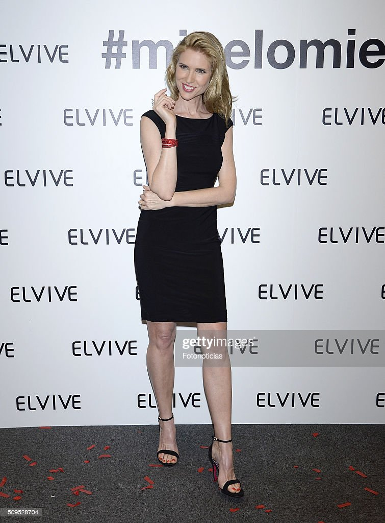 Judith Masco is presented as a new Elvive Ambassador at the ME Reina Victoria Hotel on February 11, 2016 in Madrid, Spain.