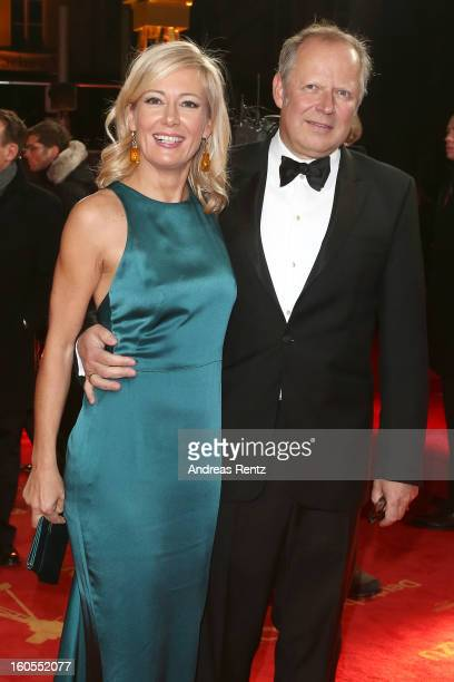 Judith Milberg and Axel Milberg attend 'Goldene Kamera 2013' at Axel Springer Haus on February 2 2013 in Berlin Germany