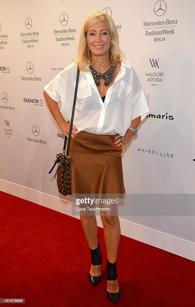 Judith Milberg attends the Laurel show during the Mercedes-Benz Fashion Week Spring/Summer 2015 at Erika Hess Eisstadion on July 10, 2014 in Berlin, Germany.