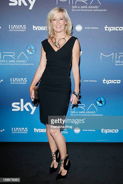 Judith Milberg attends the Mira Award 2013 on January 24 2013 in Berlin Germany