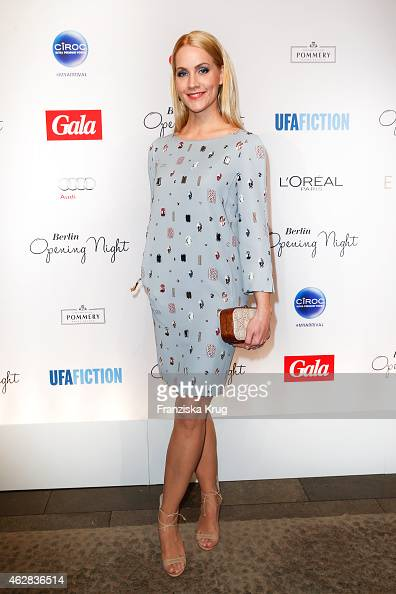 Judith Rakers attends the 'Berlin Opening Night Of Gala Ufa Fiction on February 05 2015 in Berlin Germany
