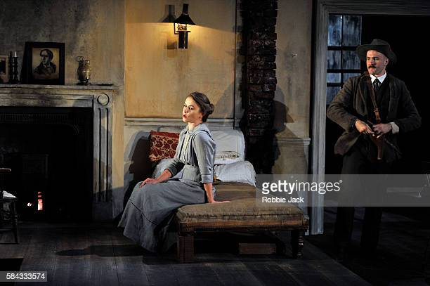 Judith Roddy as Nora Clitheroe and Fionn Walton as Jack Clitheroe in Seán O'Casey's The Plough and the Stars directed by Howard Davies and Jeremy...