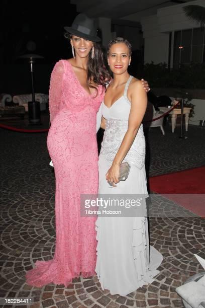 Judith Shekoni and Daphne Wayans attend the 4th annual Face Forward LA Gala at Fairmont Miramar Hotel on September 28 2013 in Santa Monica California