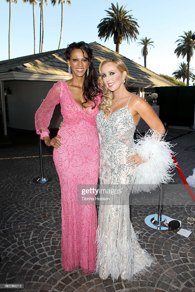 Judith Shekoni and Deborah Alessi attend the 4th annual Face Forward LA Gala at Fairmont Miramar Hotel on September 28, 2013 in Santa Monica, California.