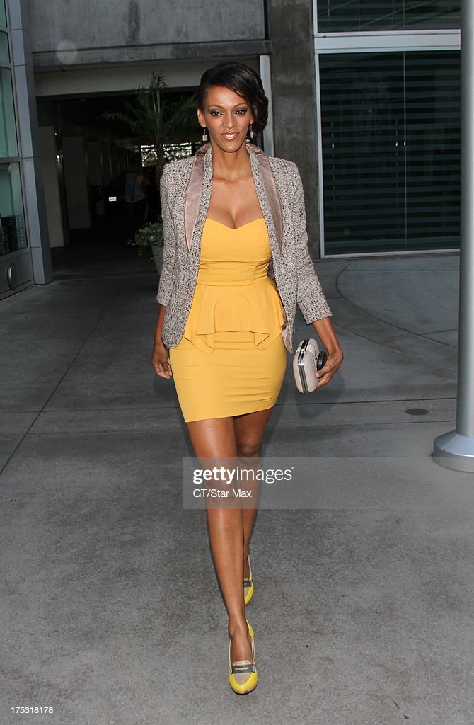 Judith Shekoni as seen on August 1, 2013 in Los Angeles, California.
