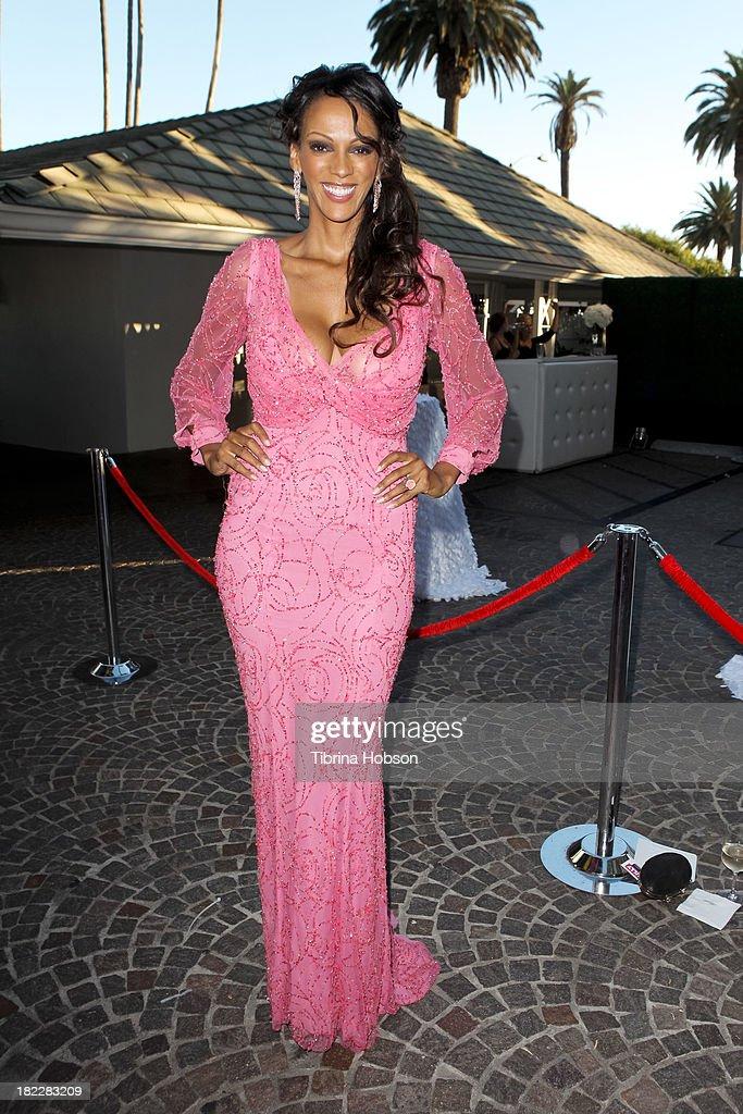 Judith Shekoni attends the 4th annual Face Forward LA Gala at Fairmont Miramar Hotel on September 28, 2013 in Santa Monica, California.