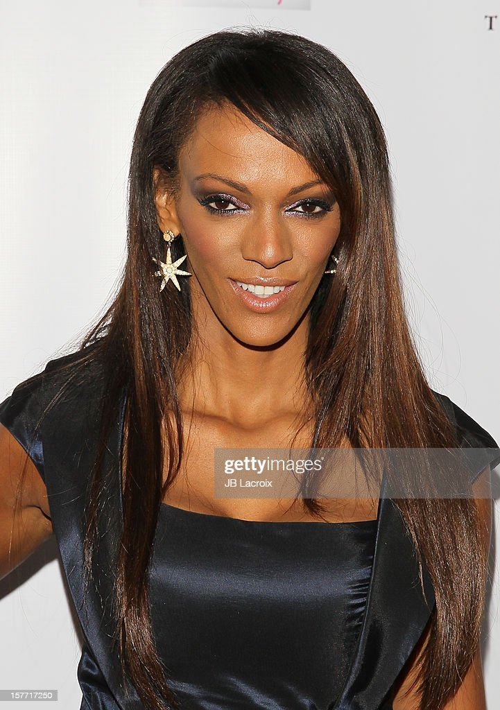 Judith Shekoni attends the Kevan Hall Presents His Spring 2013 Collection on December 5, 2012 in Los Angeles, California.