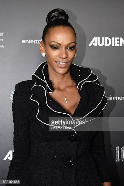 Judith Shekoni attends the premiere of Audience Network's 'Ice' at ArcLight Cinemas on November 9 2016 in Hollywood California