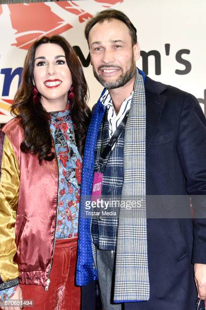 Judith Williams and her husnabd AlexanderKlaus Stecher during the GLOW The Beauty Convention at Station on November 4 2017 in Berlin Germany