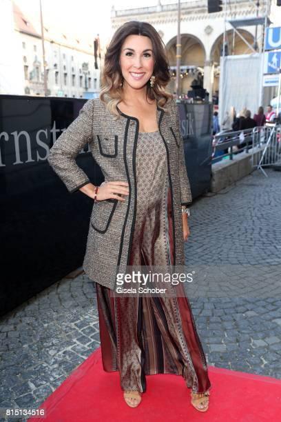 Judith Williams at the MercedesBenz reception at 'Klassik am Odeonsplatz' on July 15 2017 in Munich Germany