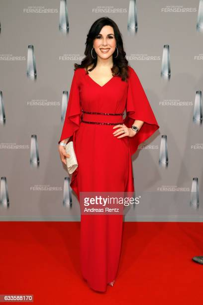 Judith Williams attends the German Television Award at Rheinterrasse on February 2 2017 in Duesseldorf Germany
