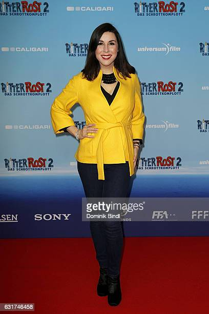 Judith Williams attends the Ritter Rost 2 Das Schrottkomplott Premiere at Mathaeser Filmpalast on January 15 2017 in Munich Germany